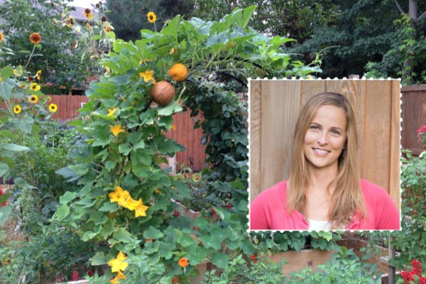 Amy of Get Busy Gardening in Minneapolis, Minnesota.