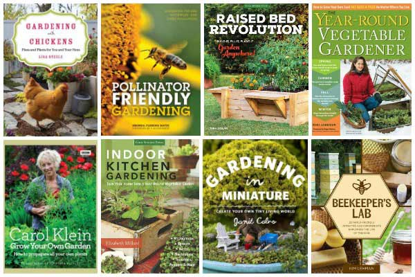 12 Books to Make Your Creative Garden Fabulous