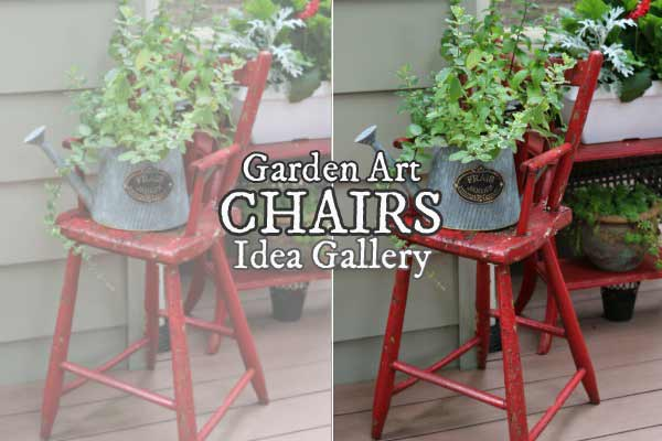 Garden Art Chairs & Planters