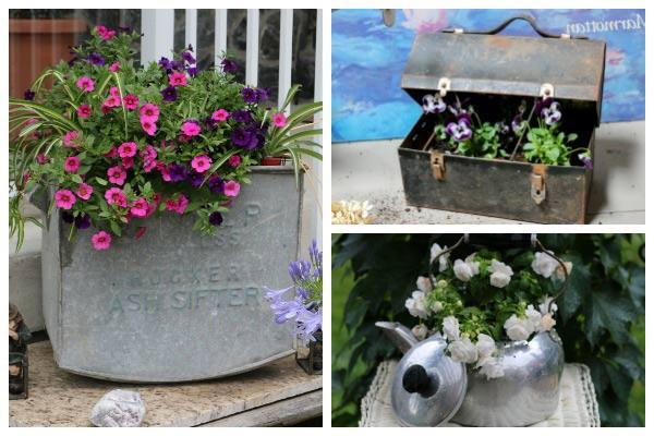 Empress of Dirt & 22 Creative Flower Container Ideas | Empress of Dirt