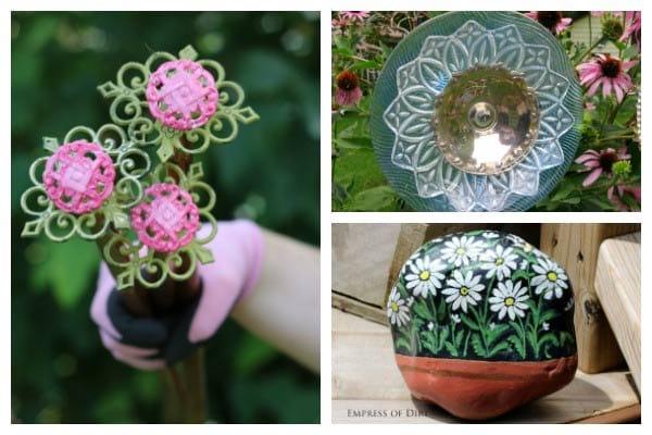 DIY Garden Art Flower Tutorials