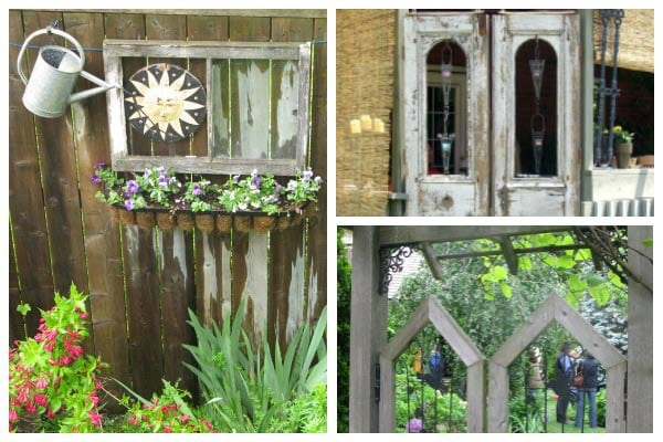 12+ Ideas For Old Doors and Windows in the Garden