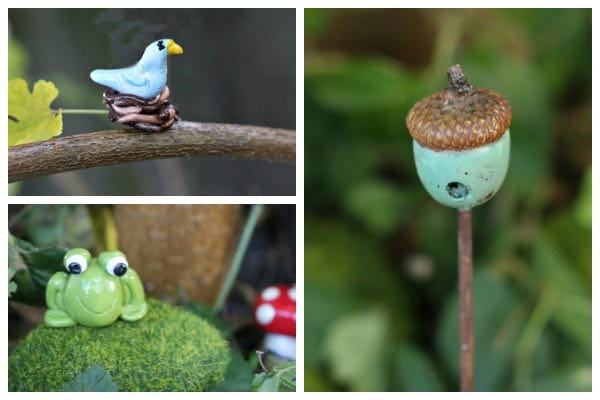 Make your own miniature fairy garden charms and accessories with polymer clay.