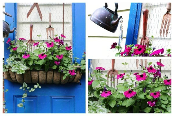 Farmhouse Door Garden Art Makeover
