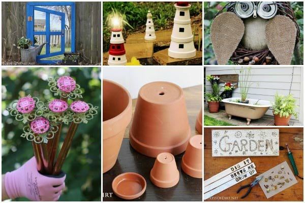 Top weekend creative garden art projects.