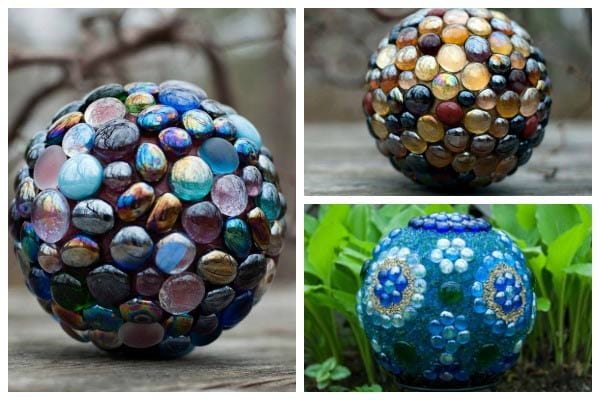Tips for Making Decorative Garden Art Balls with Artist Karen Weigert Enos