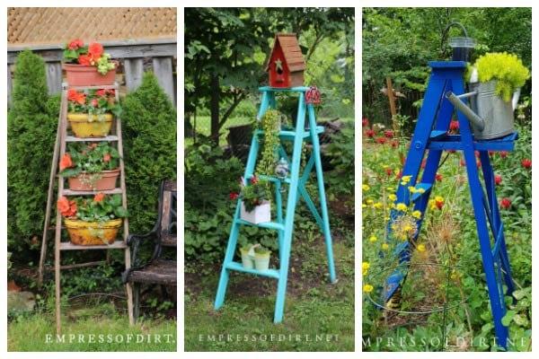 Garden Art Ladders Idea Gallery