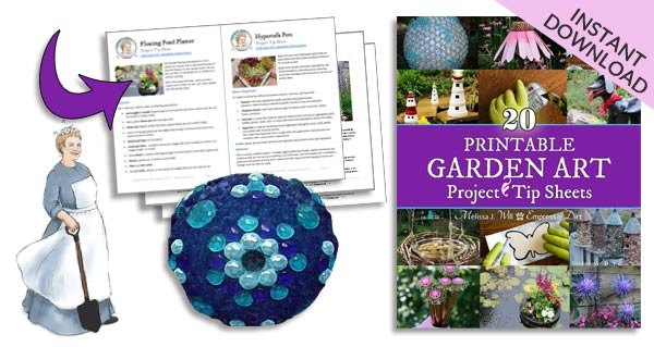20 Printable Garden Art Project Tip Sheets