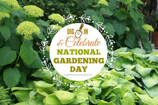 Dig In and Celebrate National Gardening Day | Book Giveaway