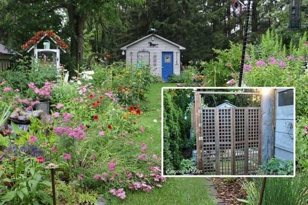 Trash-to-Treasure Garden Gate
