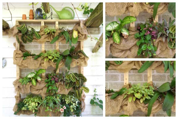 Make a Rustic Wall Planter