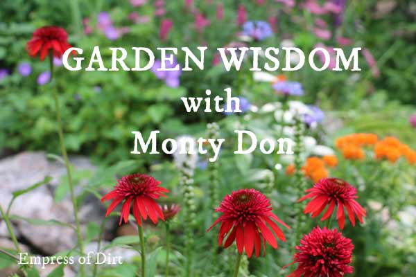 Why do we garden? What is the real value of it? And what are the secrets to the best gardens? These ideas come from a recent talk by Monty Don, host of BBC Gardener's World.