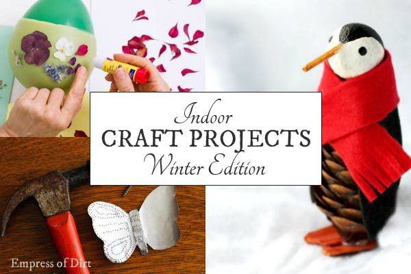 Indoor Craft Projects | Winter Edition
