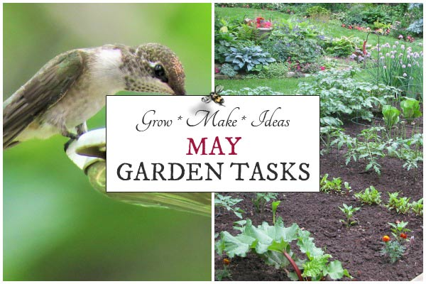 May Garden Tasks | What to Make and Grow