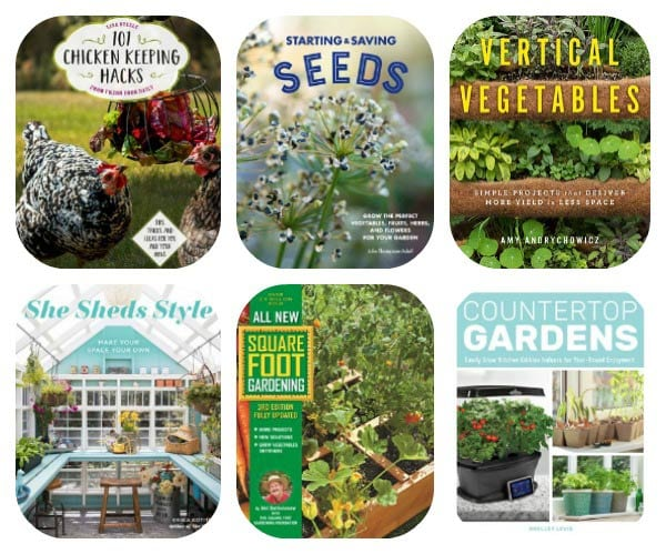 Enter to win six new garden releases from The Quarto Book Group.