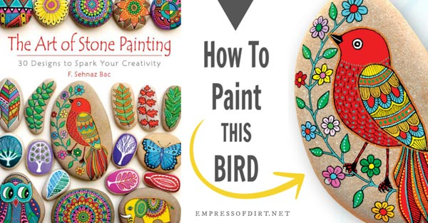 The Art of Stone Painting book.
