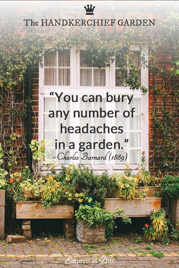 Encouraging City Food Gardens…In The 1800s!
