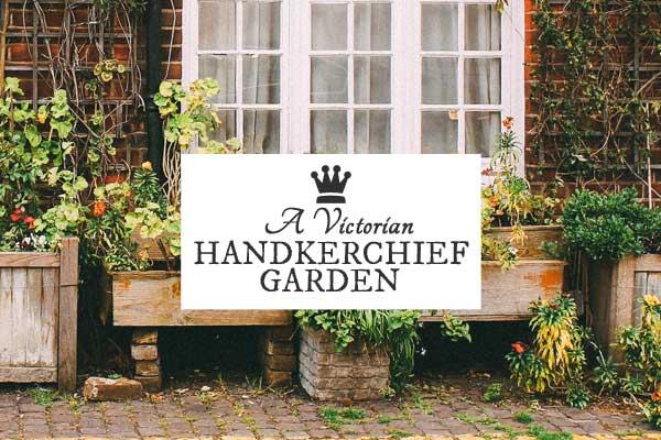 A Victorian Handkercheif Garden by Charles Barnard