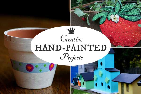 Hand-Painted Craft & DIY Projects