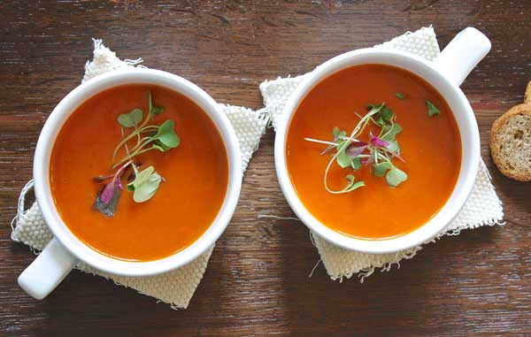 12 Vegetarian soup recipes to make for hearty snacks and healthy dinners.