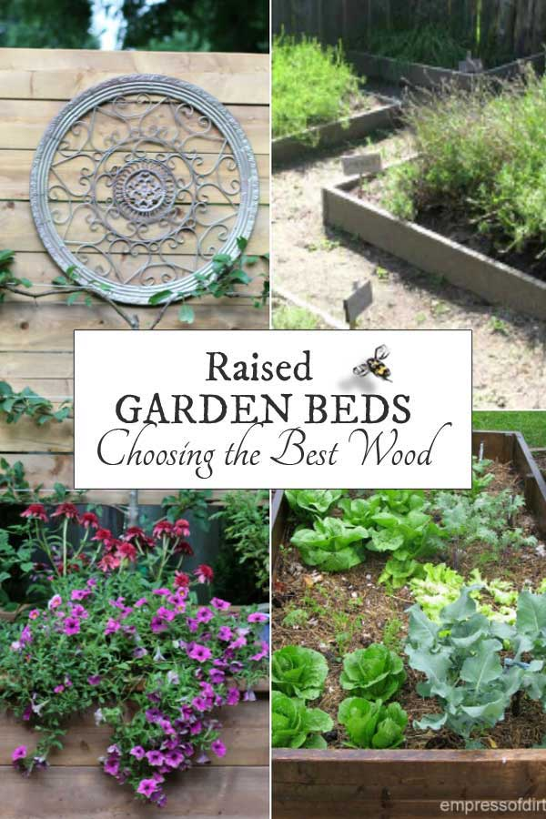 Best Wood For Raised Garden Beds | Printable