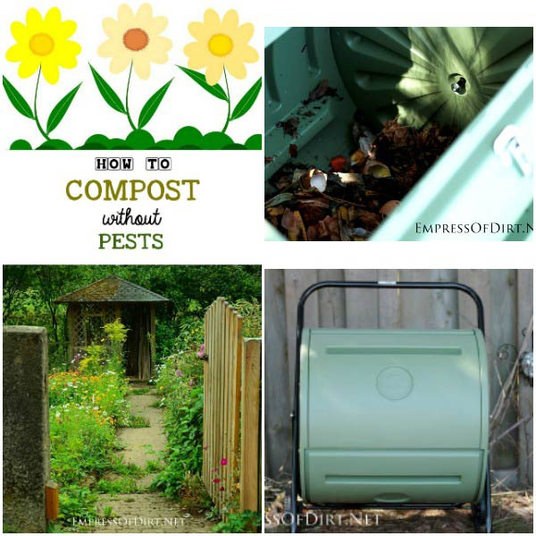 we all know composting is good for the garden and the environment but sometimes compost