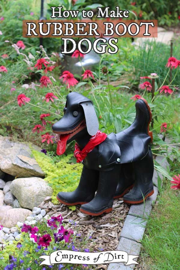 How To Make Rubber Boot Dogs Printable Empress Of Dirt