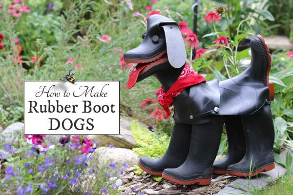 How to Make Rubber Boot Dogs