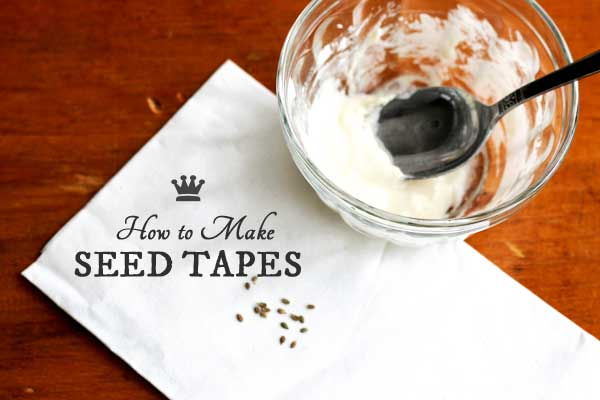 How to Make Seed Tapes