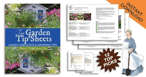 12 Top Garden Tip Sheets & Checklists | Instant Download