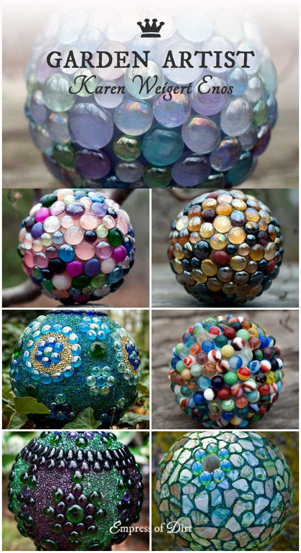 DIY Decorative Garden Ball Tutorial Empress of Dirt