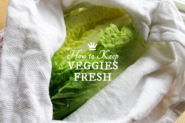 Easy Trick to Keep Vegetables Fresh and Crisp