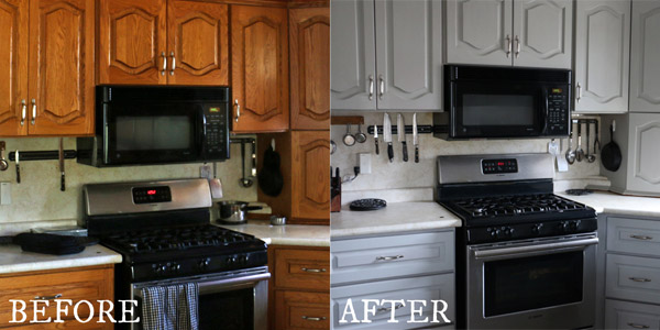 Kitchen cabinets painted with Fusion Mineral Paints