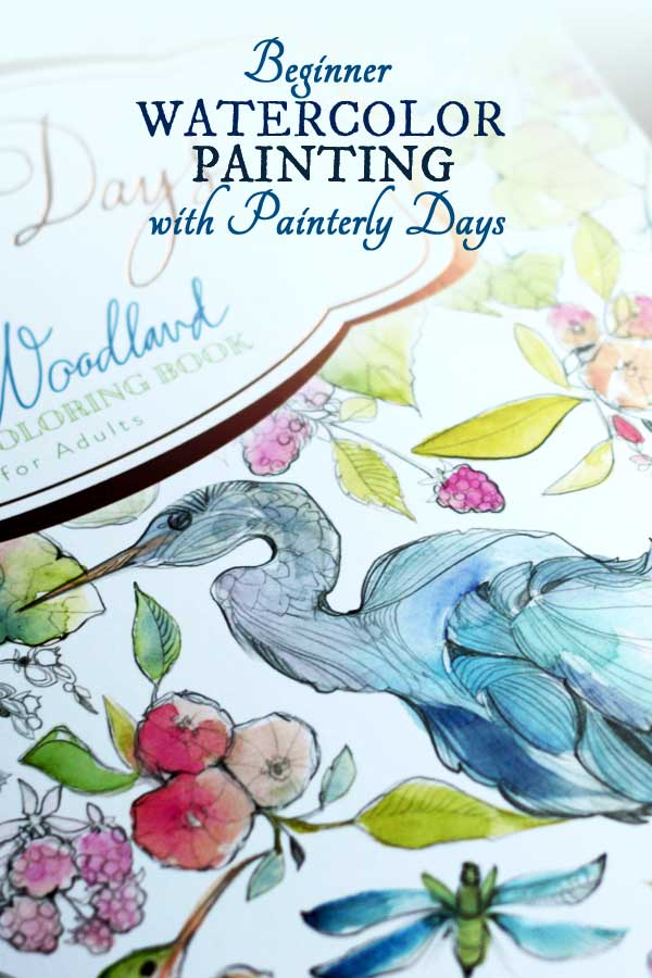 Beginner Watercolor Painting with Painterly Days