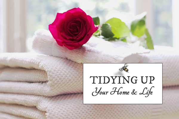 If you are feeling crushed by burden of clutter and crave a tidy, pleasing, functional home, these tips from The Lifechanging Magic of Tidying Up and Spark Joy by Marie Kondo may help.