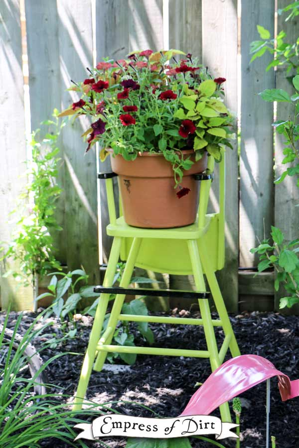 Gallery Of Garden Art Chair Ideas Empress Of Dirt