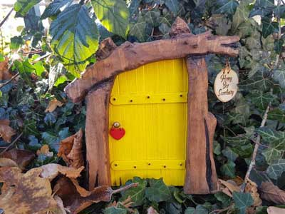 Fairy garden door by LisaGloverCraft on Etsy