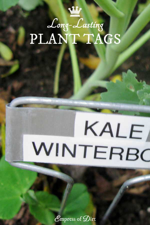 Plant Markers and Labels That Endure All Seasons