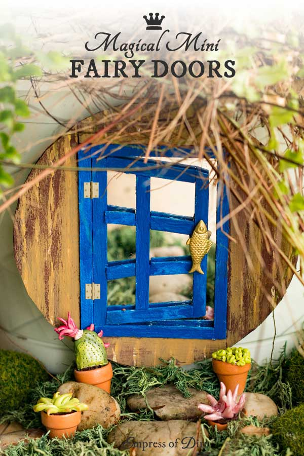 How to Make a Magical Mini Fairy Garden Door
