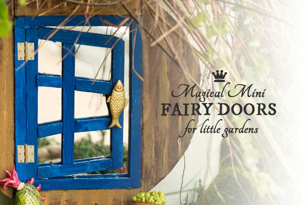 How to make magical mini fairy doors for little gardens