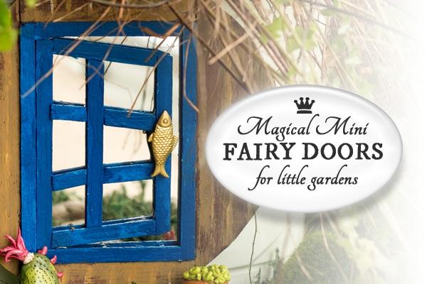 How to Make a Magical Mini Fairy Garden Door