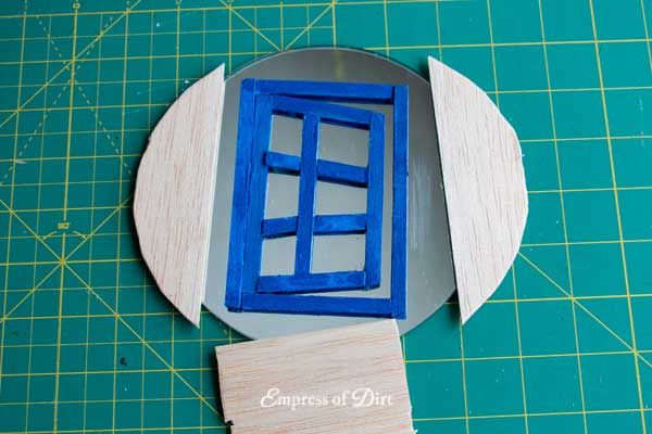 Create magical mini fairy doors to add a fun optical illusion to your little garden.