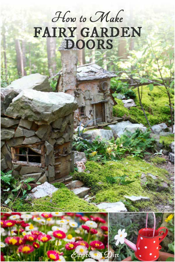 Knock, knock! This collection of fairy garden door ideas provides tutorials, recommended materials, and ready-made doors for your miniature garden.
