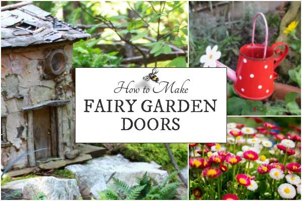 Fairy Garden Doors | Tips, Tutorials, & Resources