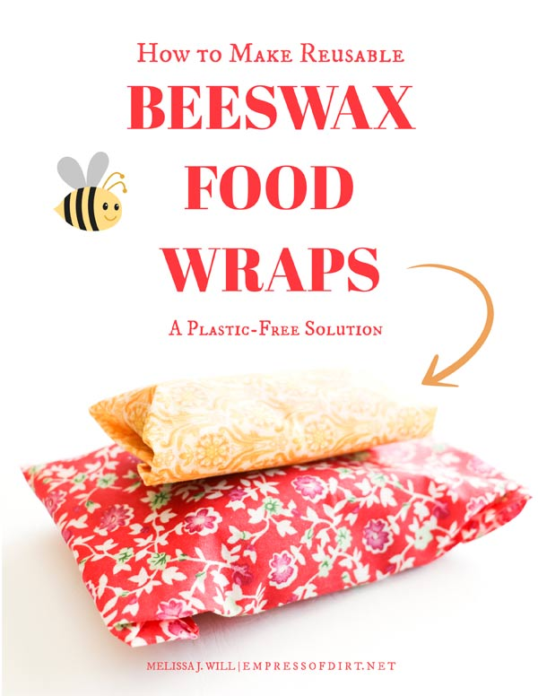 How to make reusable beeswax food wraps.