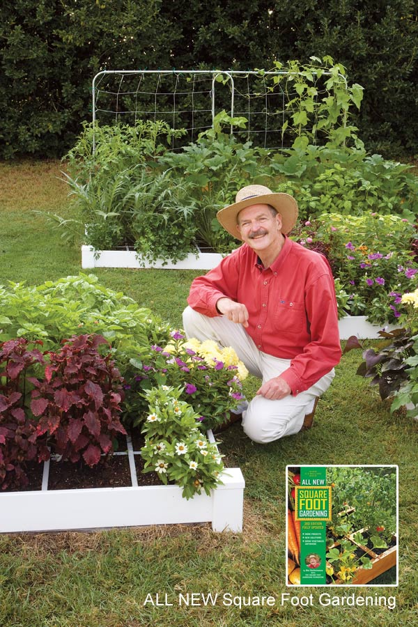 All New Square Foot Gardening with Mel Bartholomew. Photo by J. Paul Moore.