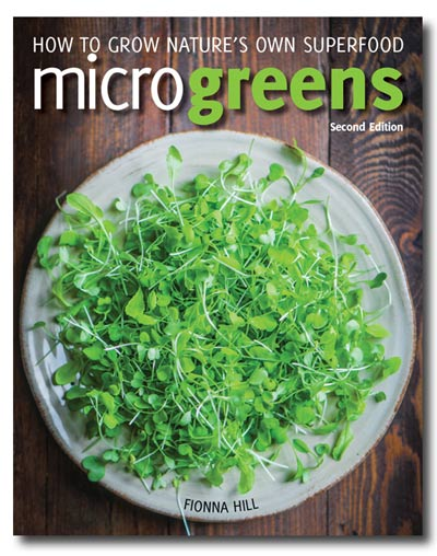 Microgreens: How to Grow Nature's Own Superfood. Microgreens—the tiny seedlings of herbs and vegetables—are today's hottest gourmet greens, flavour accent and garnish, offering a multitude of colours, textures, and distinct flavours, from spicy, mild and subtle to hot or nutty.