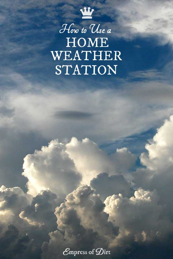 Why We Use a Home Weather Station