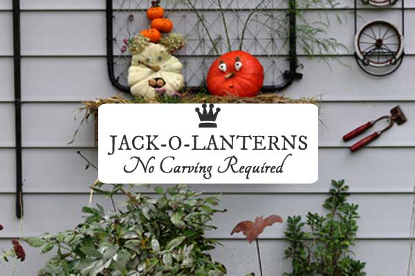 Tips for creating a fabulous Halloween or fall decor pumpkin using household items