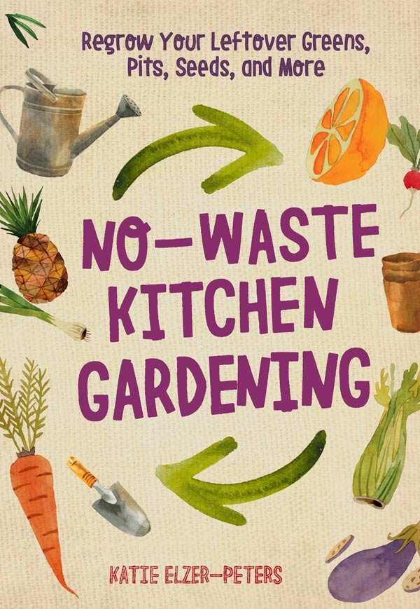 No-Waste Kitchen Gardening book cover.